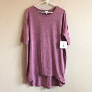 Lularoe Irma Purple tunic Top S NWT
